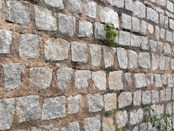 High resolution stone-wall texture