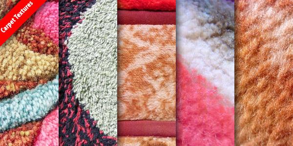 5 High resolution carpet textures