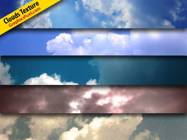 Free high-quality cloud textures