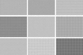 15 seamless pixel patterns