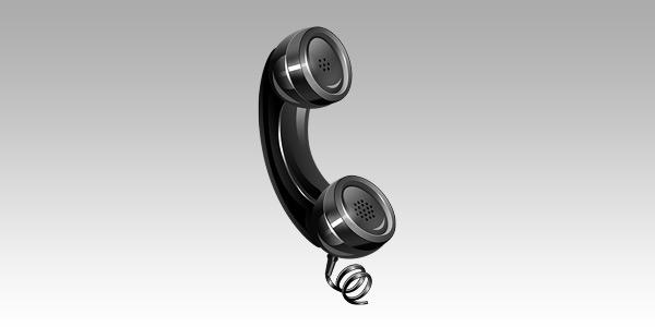 Telephone icon (PSD)