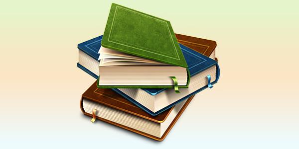 Books icon (PSD)