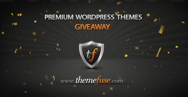 Giveaway: Win 3 WordPress theme licenses from ThemeFuse