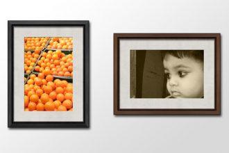 Wooden Photo Frames PSD