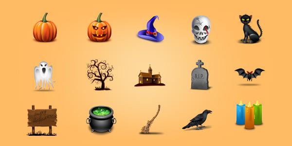 15 Halloween Icons