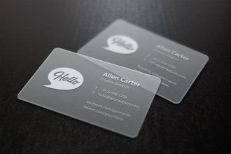20 Free Business Cards & Mockup PSD Templates