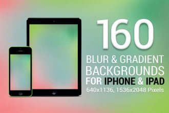 160 Blur & Gradient Backgrounds For iPhone & iPad