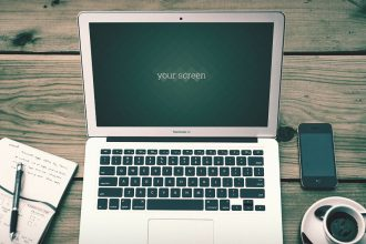 Free Macbook Air Photo Mockups