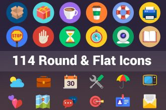 114-flat-icons-featured
