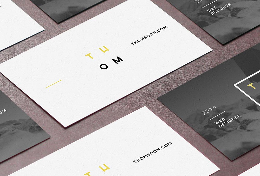 7 Free Business Card Mockups