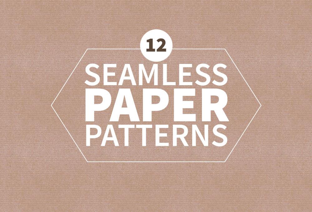 12 Free Seamless Paper Patterns