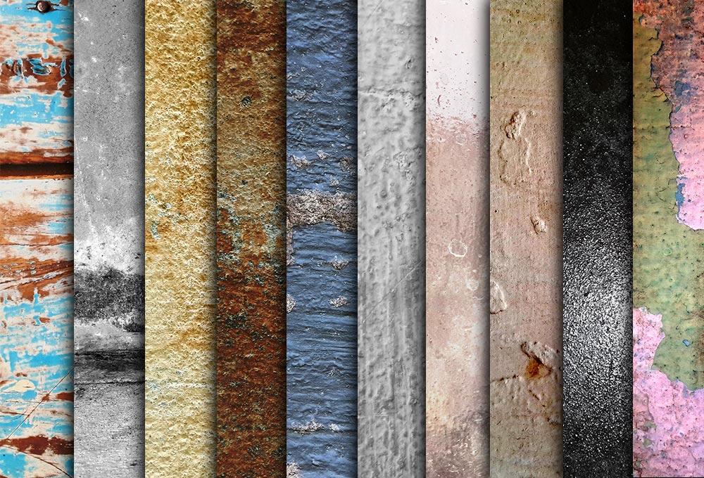 10 Free Grunge Textures