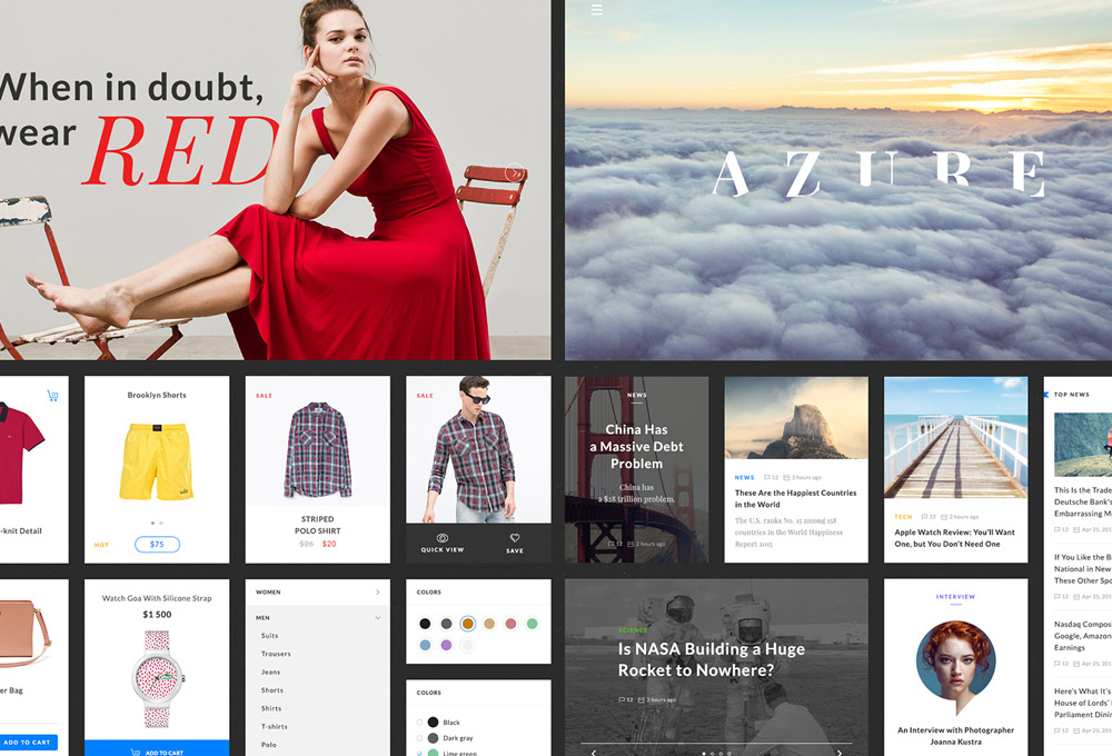 Azure: Free UI Kit