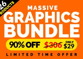 OUR GRAPHICS BUNDLE – 90% OFF