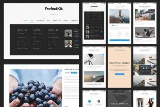 PerfectKit – Free Web And Mobile UI Kit