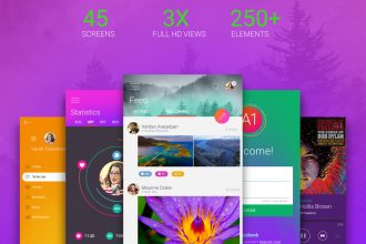 A1: Free App UI Kit