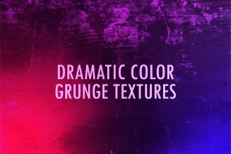 Dramatic Color Grunge Textures