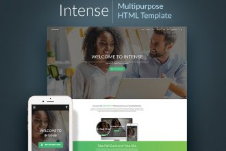 The Future is Intense: 10 Best Intense-Based Templates Which Will Suit Any Website