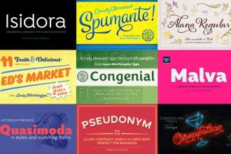 Huge Definitive Fonts Bundle For Just $29