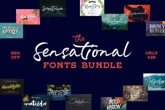 33 Sensational Fonts Every Designer Should Have