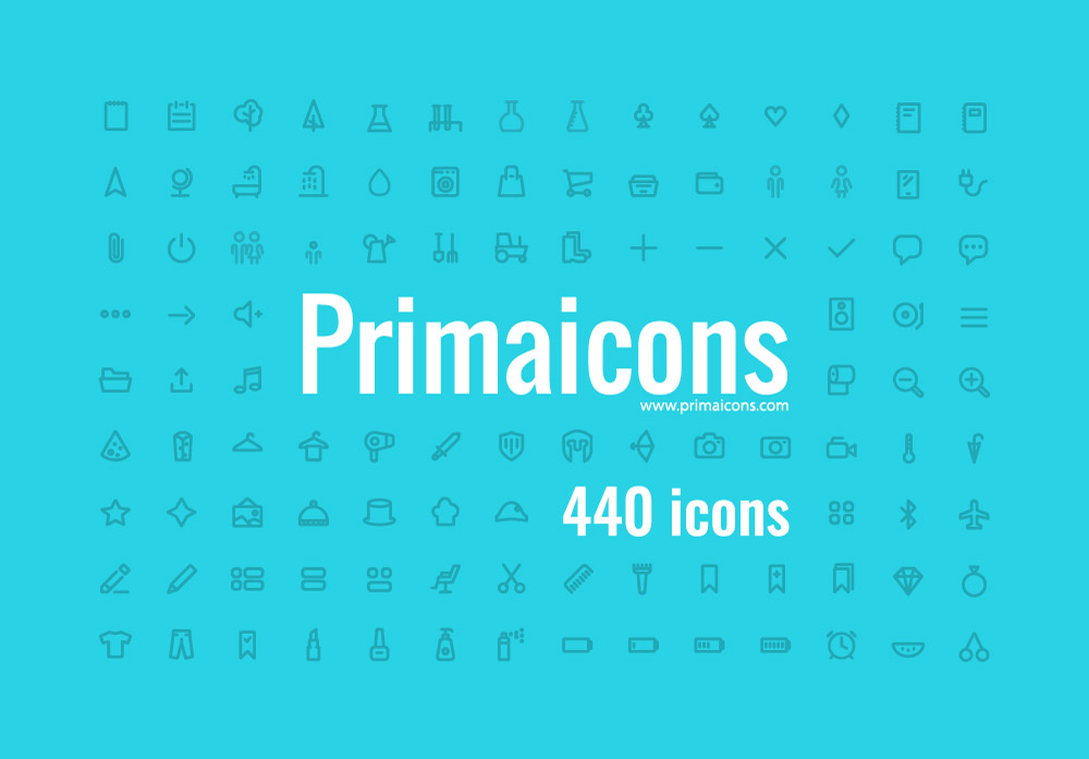 Giveaway: Win 3 Copies of Web Icons & Fonts from Primaicons