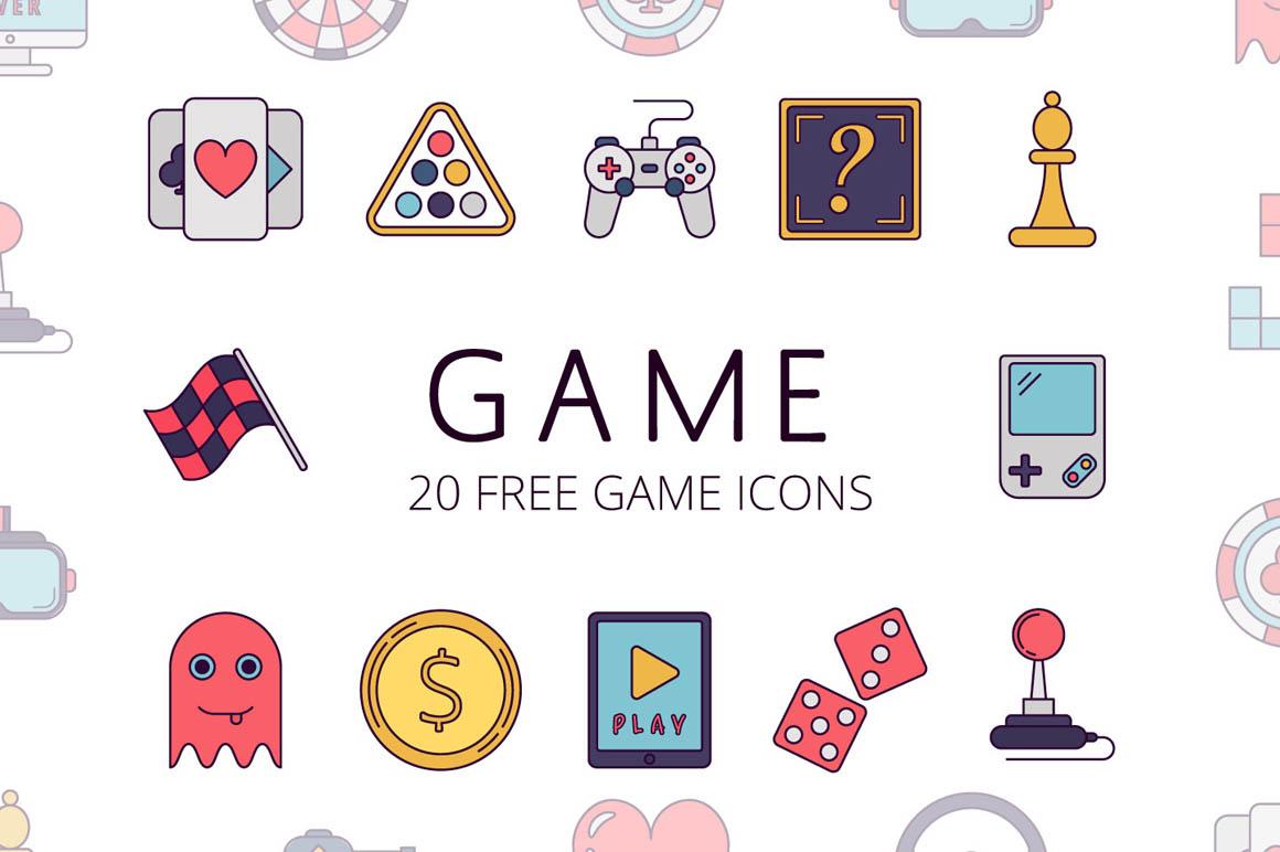 Game Vector Free Icon Set